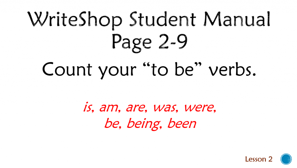 """""""To Be"""" Verbs"""